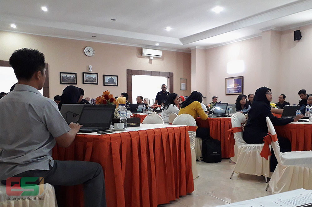 Peserta Sosialisasi dan Pelatihan CER-Bond Yogyakarta
