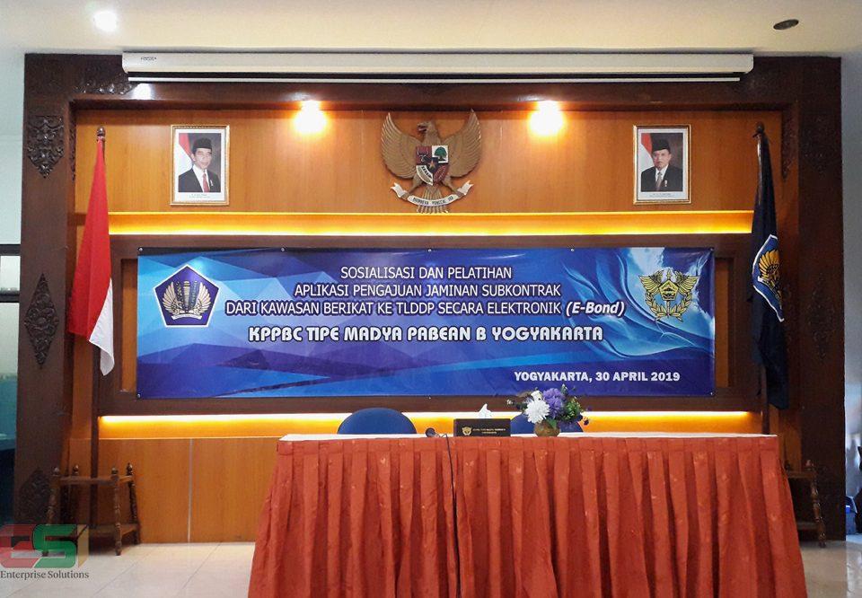 Sosialisasi dan Pelatihan CER-bond dengan KPPBC Yogyakarta